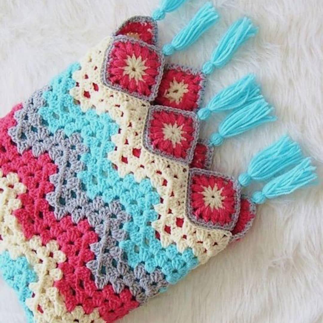 Nermin On Instagram Selamlar Renkli Mi Renkli Battaniye Koltuk Sali Bebek Battaniyesi Yatak In 2020 Crochet Ripple Pattern Crochet Ripple Ripple Afghan Pattern