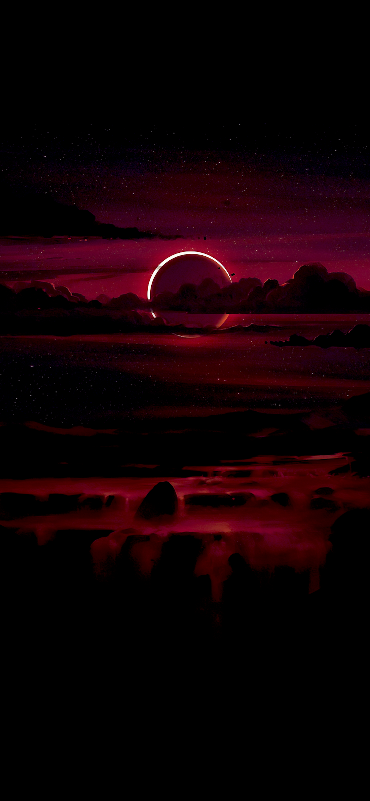Eclipse Wallpaper Iphone Android Background Followme Dark Wallpaper Iphone Galaxy Phone Wallpaper Beautiful Wallpapers Backgrounds