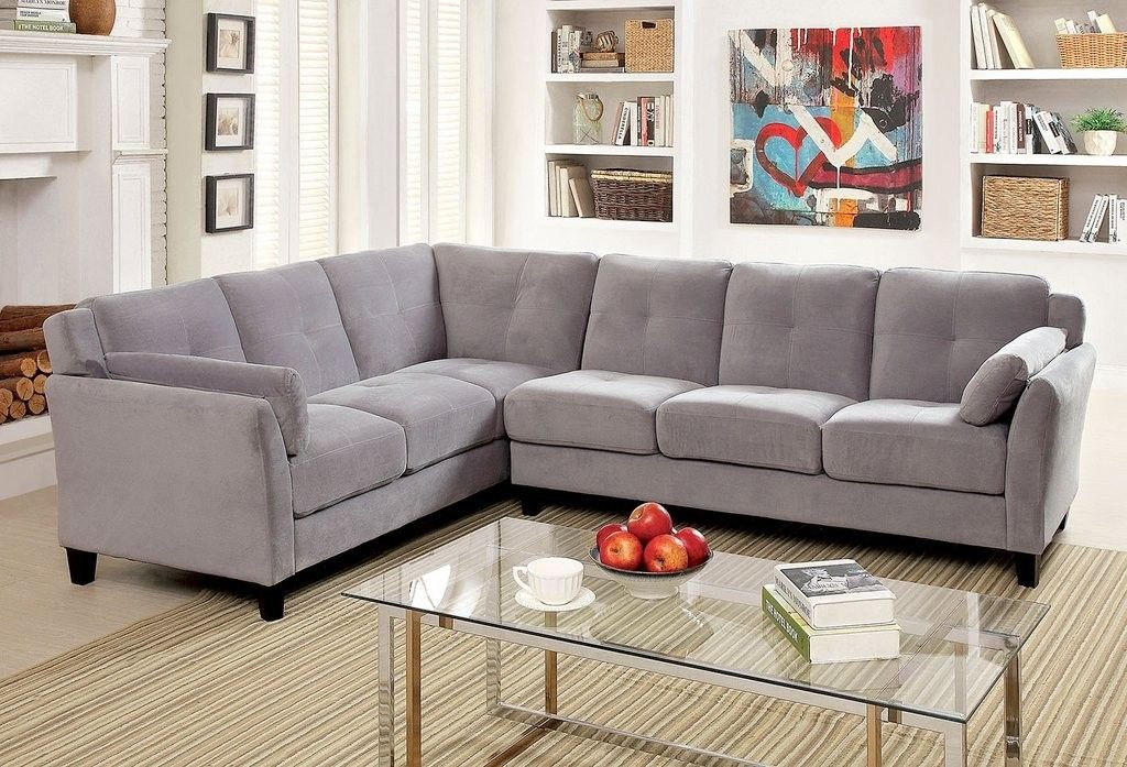 Peever Sectional Gray | Dox Furniture