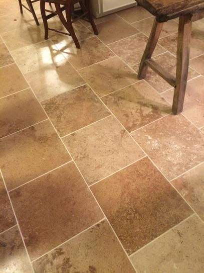 Diego 18 Honed Travertine Tile From Home Depot Customer Photo From