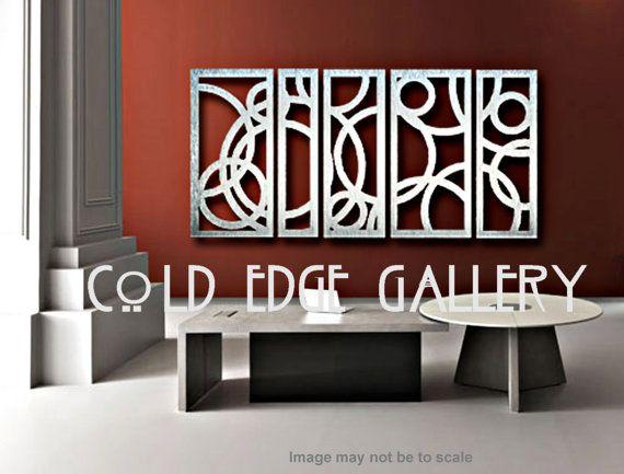 Metal Wall Art Art Decor Abstract Contemporary Modern