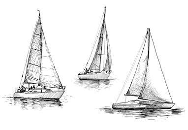 27 Boat Pencil Drawing Ideas #BoatSketch in 2020 ...