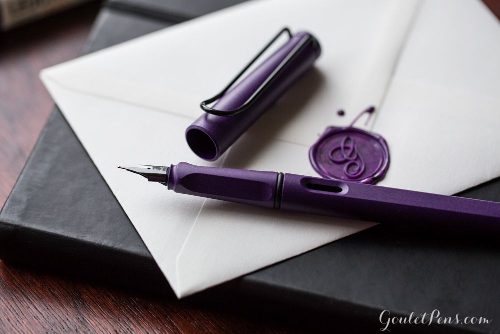 Lamy Safari Fountain Pen in Dark Lilac (Special Edition) -- coming to Goulet Pens in April 2016!