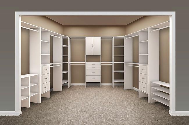 Bon Bedroom Dreams: Closet Maid Master Closet Designed By Organization.