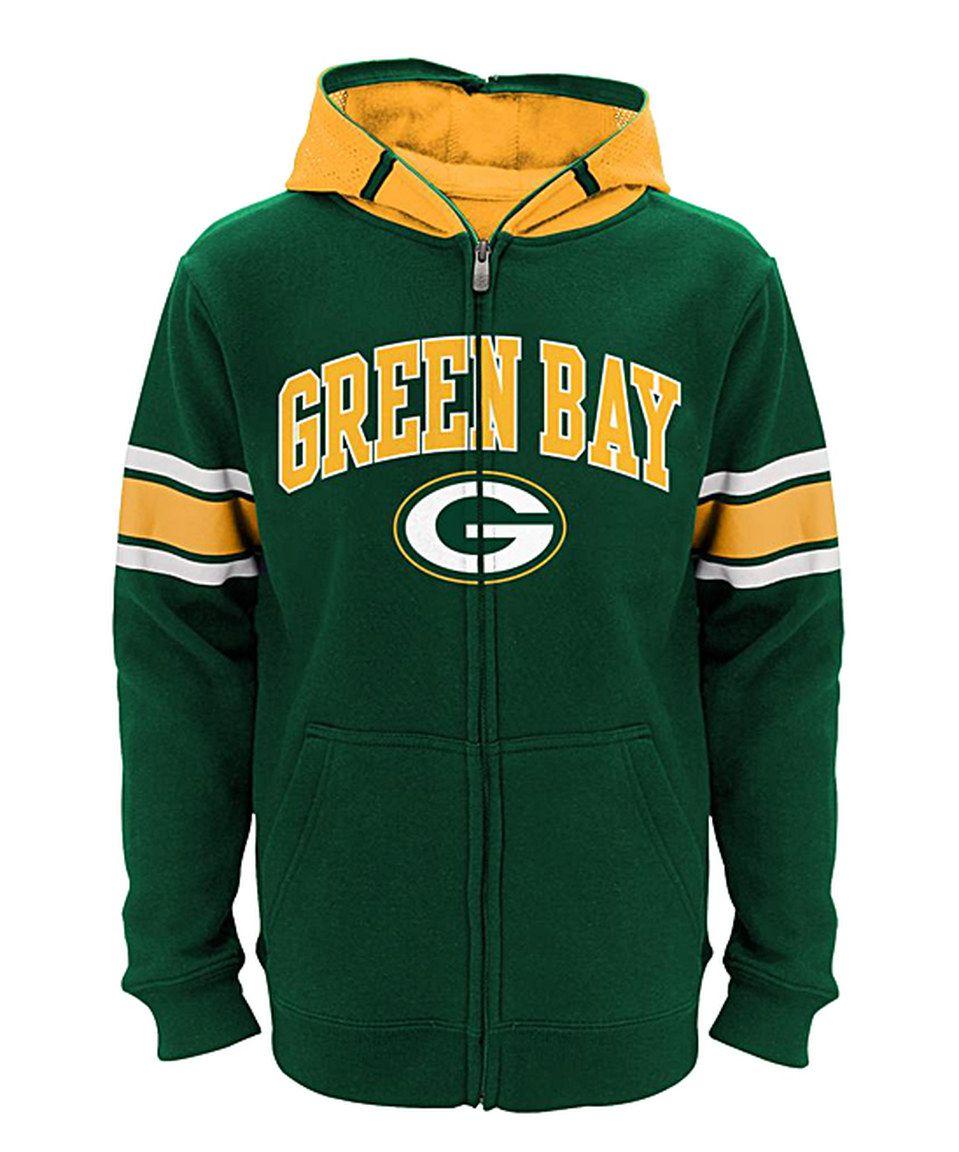 This Green Bay Packers Zip Up Hoodie Boys By Outerstuff Is Perfect Zulilyfinds Hoodies Boys Hoodies Steelers Hoodie