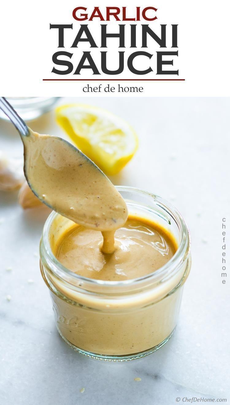Tahini Sauce Recipe | ChefDeHome.com