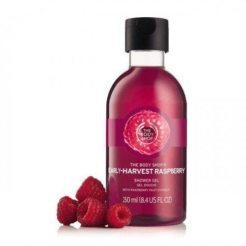 Early Harvest Raspberry Shower Gel From The Body Shop Kosmetika