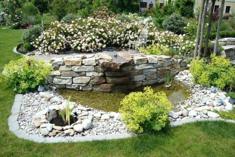 Wir Sind Professionelle Teichbau Firma Die Nach Langjahrigen Erfahrung In Gartenanlagen Bieten Teich Und Schwimmt Garten Bachlauf Im Garten Gartengestaltung