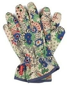 my new gardening gloves, matching tools too.  thanks momma.
