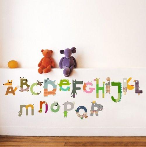 Cute alphabet chart