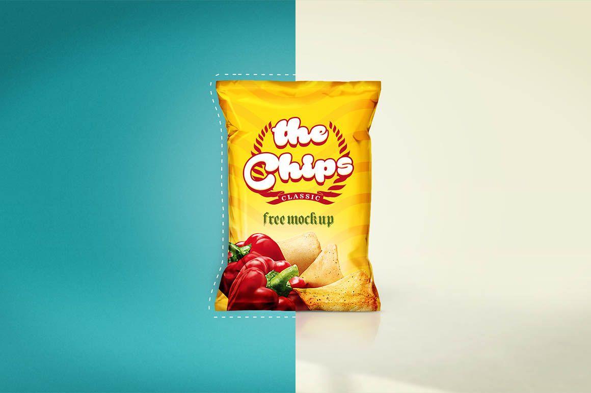Download Chips Bag Free Mockup Dealjumbo Com Discounted Design Bundles With Extended License Free Mockup Chip Bag Chips
