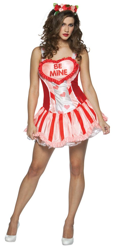 valentines be mine sexy costume 3599 womens one size fits most valentines costumes http - Valentine Costumes