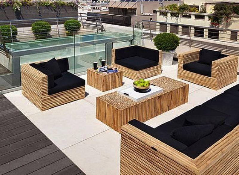 Designer Outdoor Patio Furniture Rooftop Terrace Design Roof