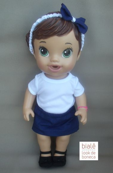 08cf5e8392 Roupas para Baby Alive  na medida certa para a boneca Hora do Chá. Confira!