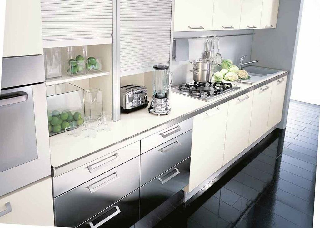 Enhance Your Kitchen Beauty With Glass Cabinet Doors ...