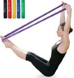 JollySports Resistance Bands Set 6 Loop Best for Training Men or Women Legs Knee Arms and Low to Heavy Duty Workout and Exercise (Multi Color x 6, 5cm x 61cm) - http://trolleytrends.com/health-fitness/jollysports-resistance-bands-set-6-loop-best-for-training-men-or-women-legs-knee-arms-and-low-to-heavy-duty-workout-and-exercise-multi-color-x-6-5cm-x-61cm