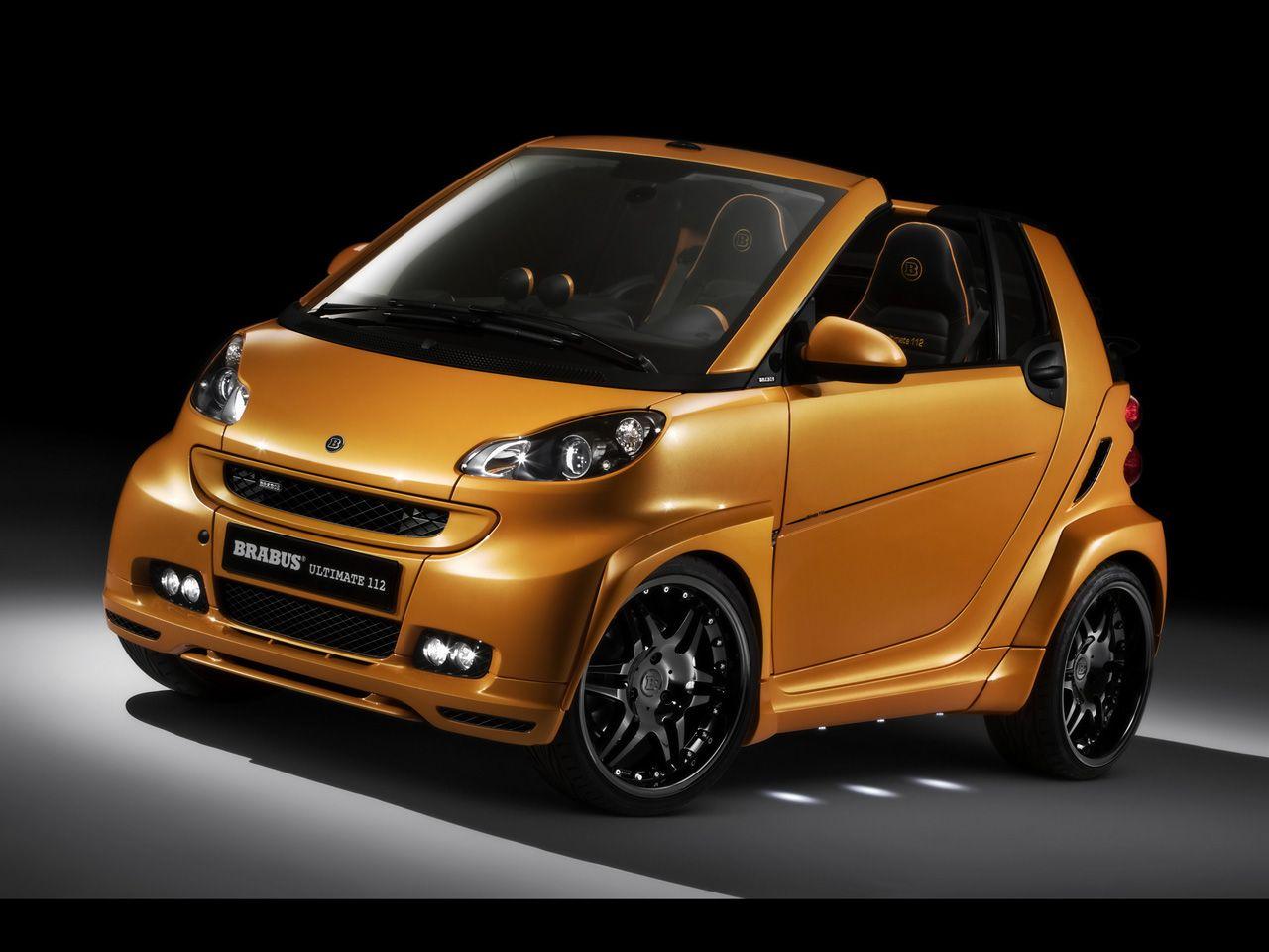 Smart Car Body Kits Brabus Smart Fortwo Ultimate 112