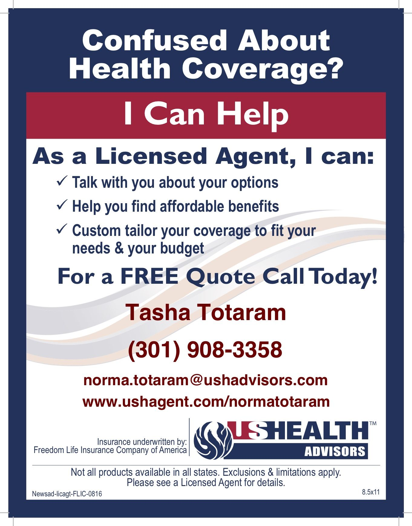 Know someone I can help with health coverage? Send them my
