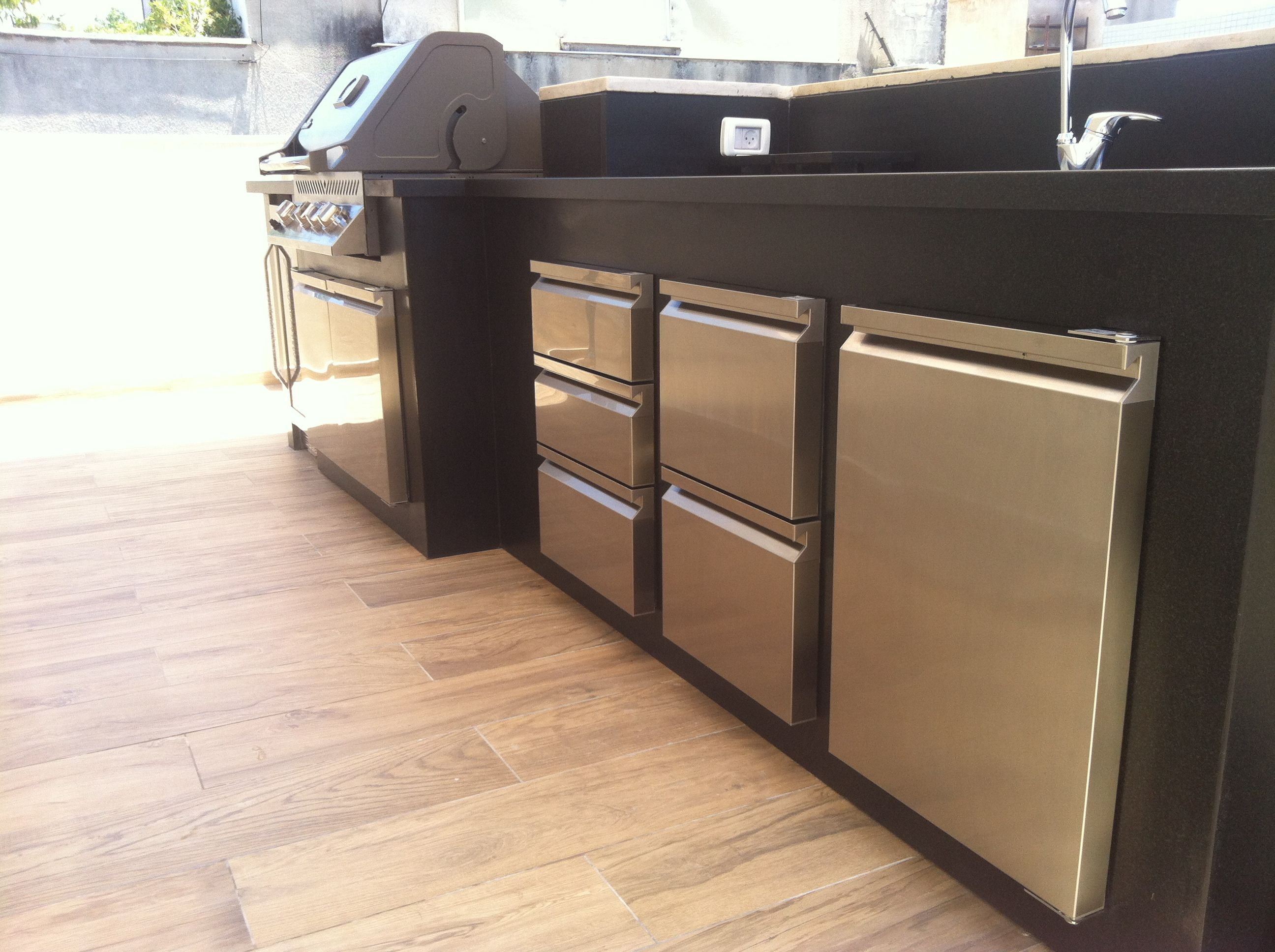 Ronda At Dream Garden Israel Stainless Steel Doors And Drawers Outdoor Kitchen