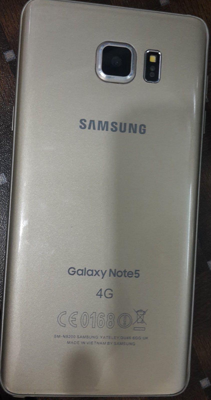 Samsung Note 5 SM-N9208 Clone MT6572 Flash File Free