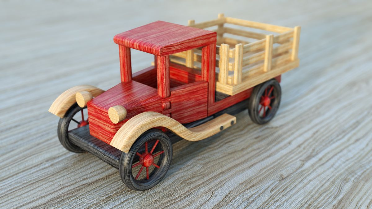 3d wooden toy car on behance | Деревянные игрушки | wooden