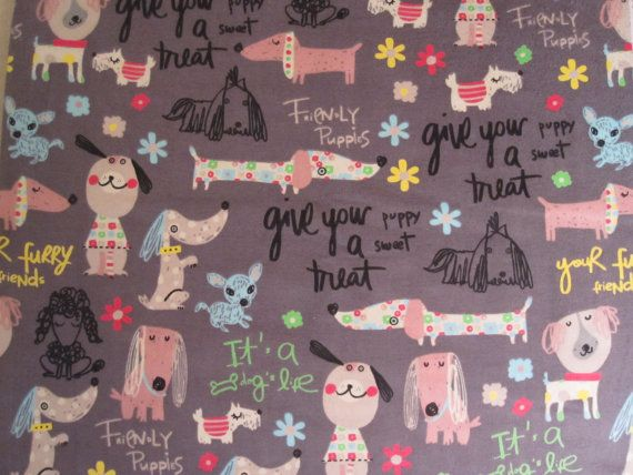 Dachshund flannel bed sheet queen bed flat sheet