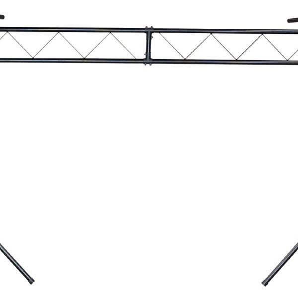 Chauvet Ch 31 10 Ft Portable Dj Trussing W T Bars Light Stand 200 Lb Capacity Bar Lighting