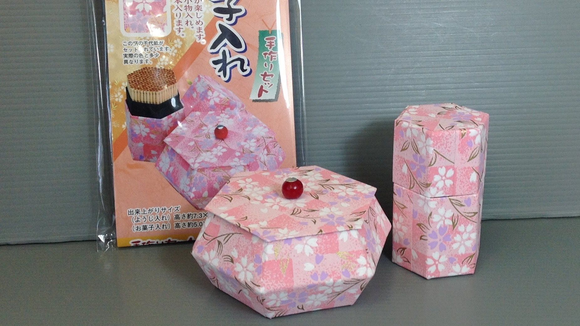 Toyo washi covered toothpick case kit unboxing origami an unboxing or unwrapping of origami paper in japan this kit is made by toyo this is a fun diy kit to make a toothpick holder and a small case jeuxipadfo Images