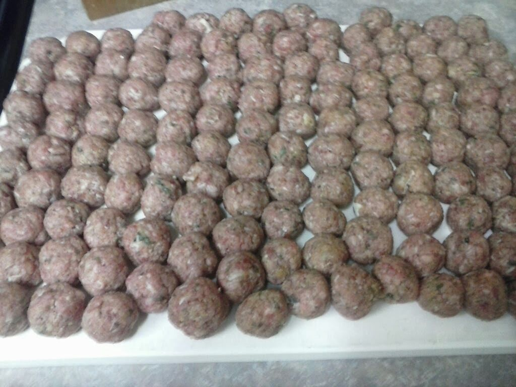 My previously top secret meatball recipe!