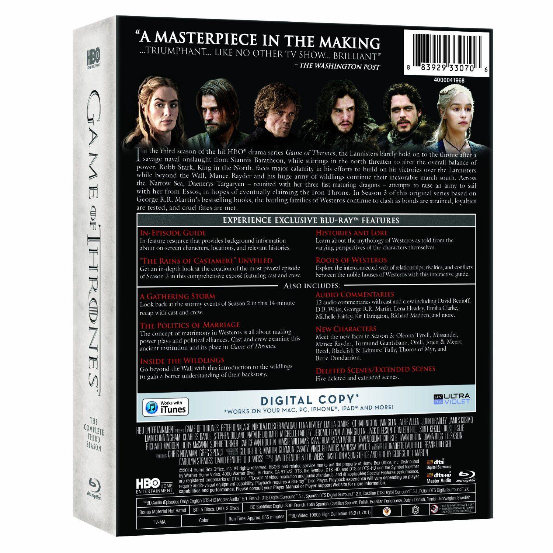 Game Of Thrones Season 3 Disc 2