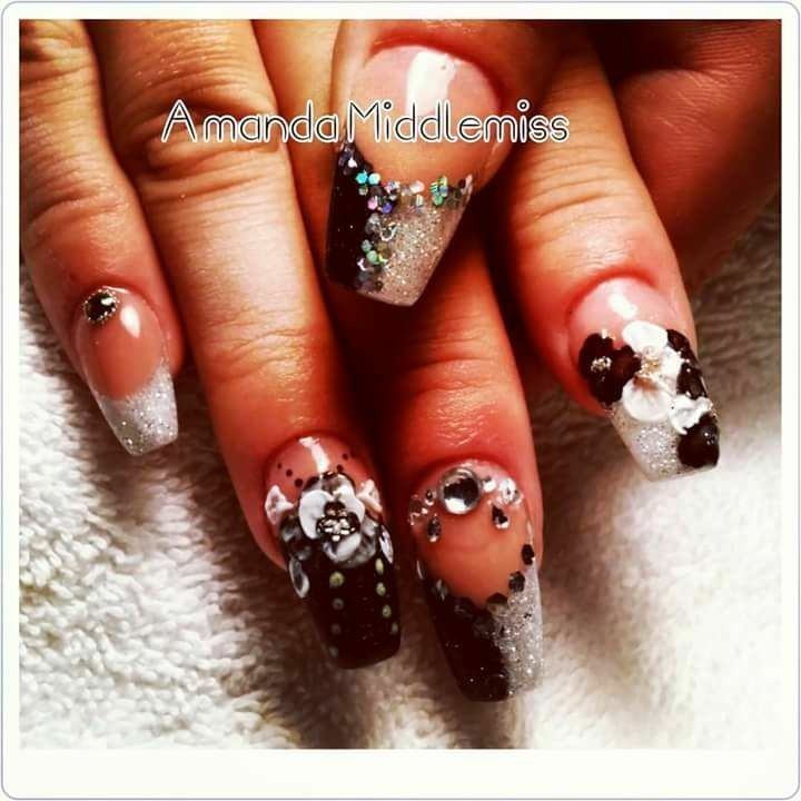 Pin by Amanda Middlemiss on .♡fabulous nails and feet by Amanda ...