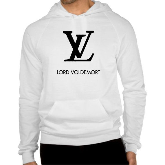 lord voldemort cool logo hoodie  size SMLXL2XL3XL by coollandart, $30.00