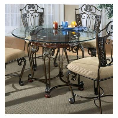 Ashley Furniture Glass Dining Sets ashley signature design opulence ii d396-15 | for the home