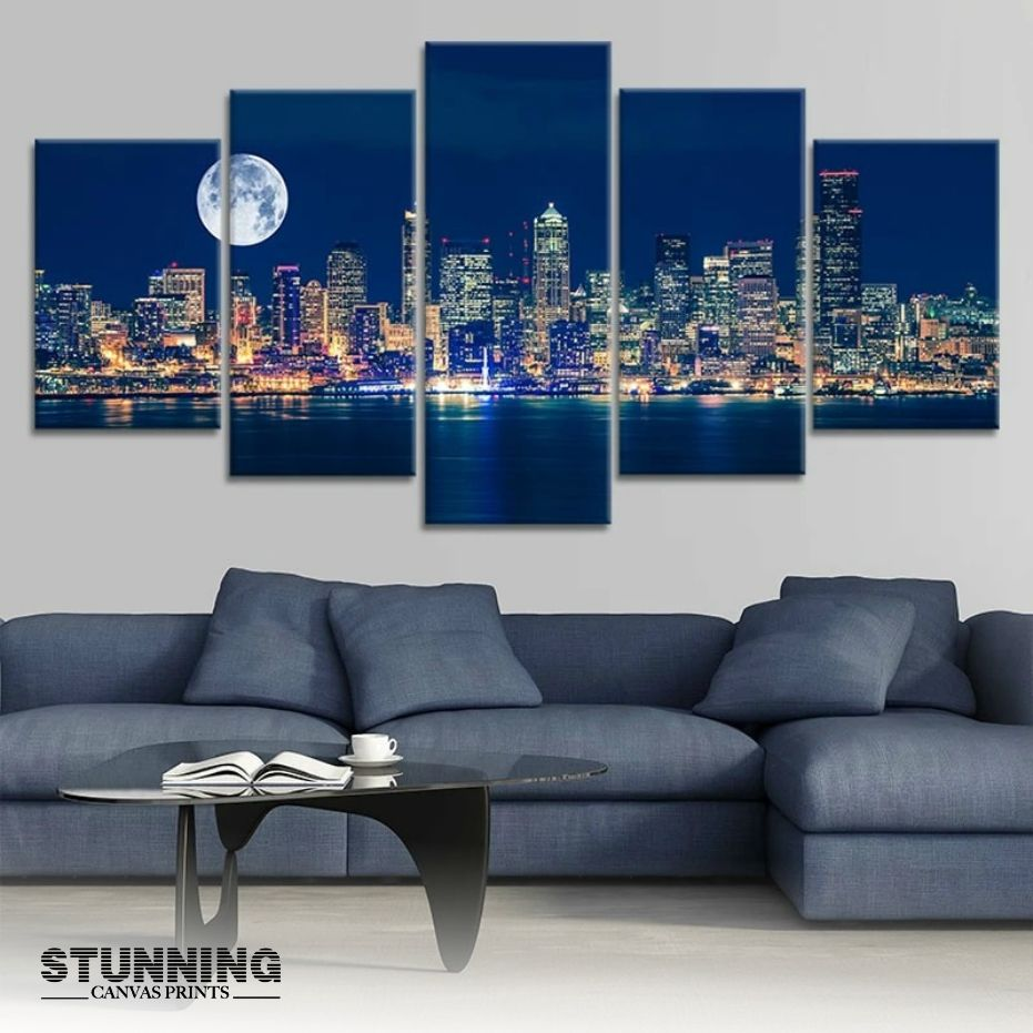This Wall Art adds a contemporary touch to any room. Make your home lively and display stunning wall art of your favorite city. #stunningcanvasprints #canvaspainting #acrylic #paint #acrylicpainting #canvasart #contemporaryart #drawing