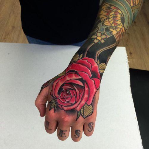 fb51f5ff2 Matt Webb | Rose Tattoos | Tattoos, Belfast tattoo, Hand tattoos
