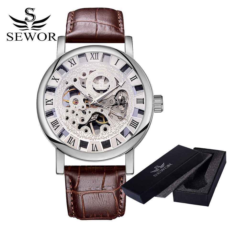 casual calendar stainless mens steel classic products wrist watches dress unique roman analog window quartz numeral watch date waterproof band business black