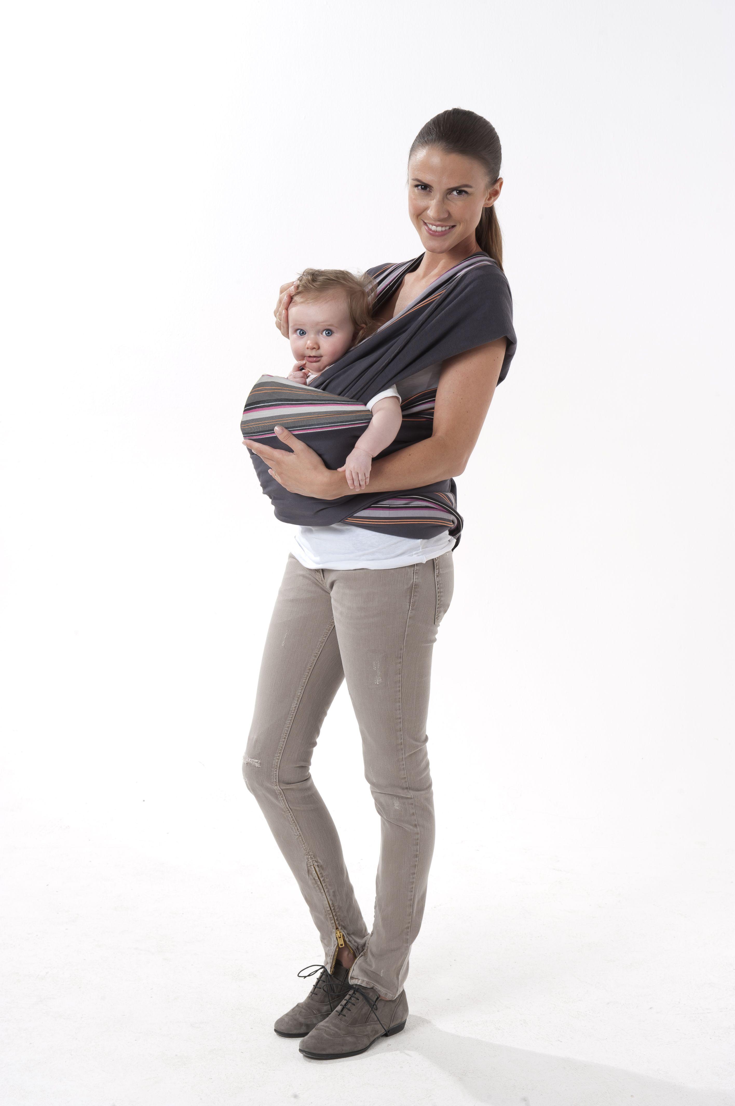 cf5e71c16f27 Porte-bébé écharpe à nouer Babymoov - position face au monde ...