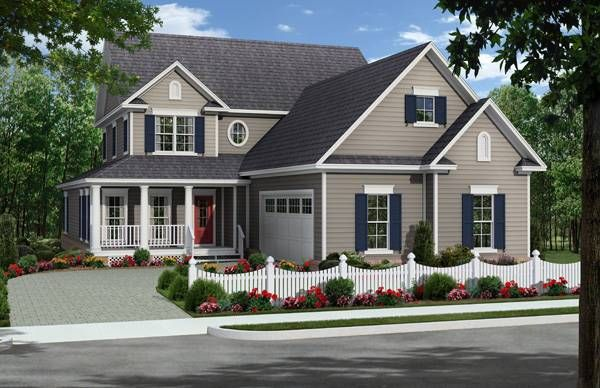 This beautiful narrow lot design offers traditional neighborhood styling along with great floor plan features.