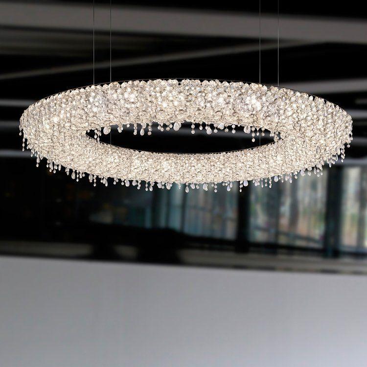 Ugolino System Circular Unique Chandeliers Creative Lamps