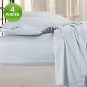 4 Piece Set: Hotel New York Luxurious Microfiber Bed Sheets   Assorted  Colors