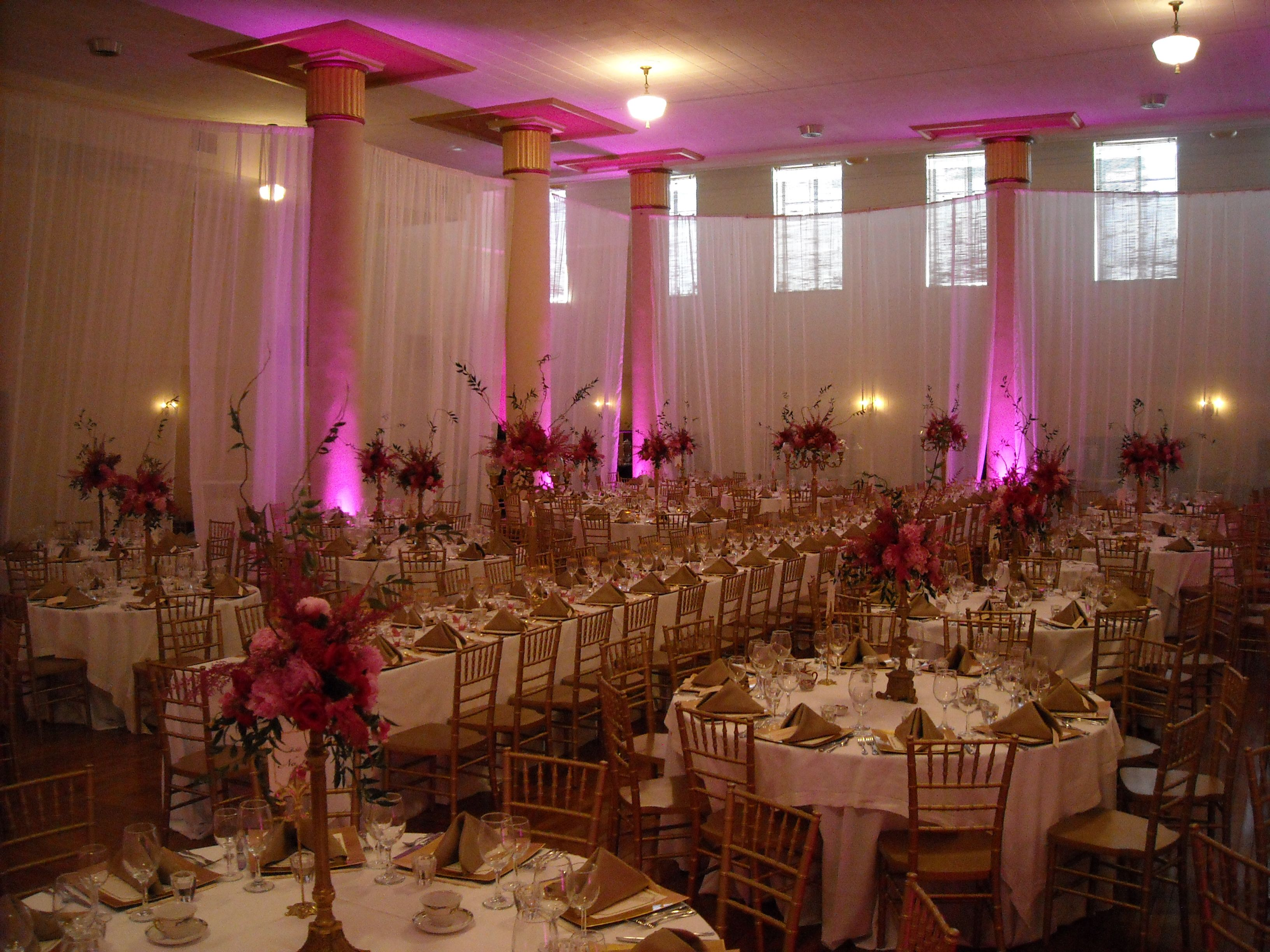 Wedding Reception At The Scottish Rite Building In Downtown Des Moines Grand Banquet Room
