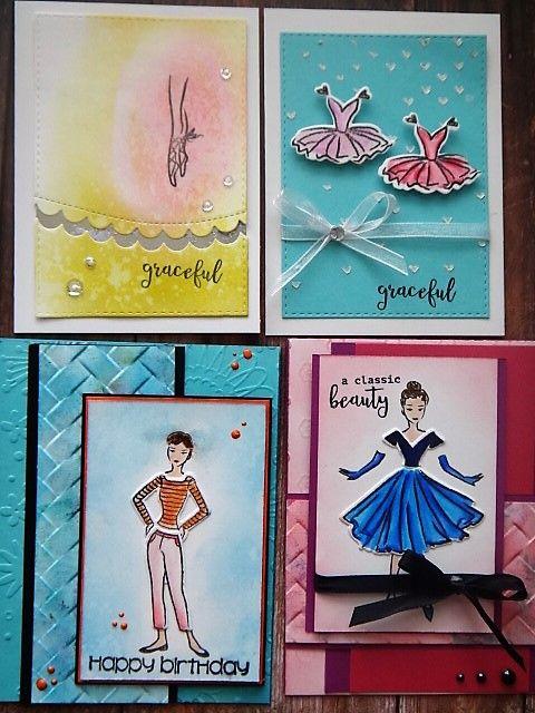 Handmadebyrenuka 1 Kit 10 And More Cards My Monthly Hero Card Kit April 2017 Part 3 Hero Arts Cards Card Art Card Craft