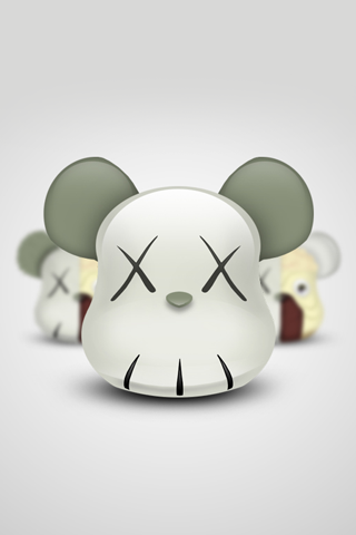bearbrick iphone