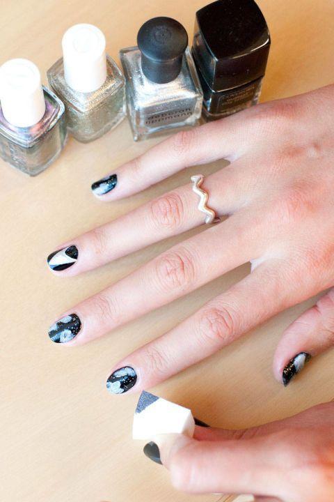 25 Ultra Geeky Nail Art Ideas Nail Arts Nail Art Tutorials And