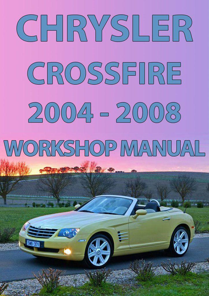 Chrysler crossfire workshop manual array chrysler crossfire 2004 2008 workshop manual chrysler crossfire rh pinterest com fandeluxe Images