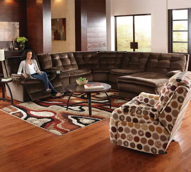 Southern Motion Comfort Scapes 882 Sectional