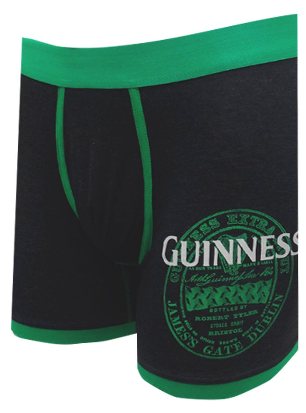 3b20b1d9d5 Guinness Label Logo Boxer Brief These are your new wardrobe necessity!  These boxer briefs for men feature the Guinness beer lab.