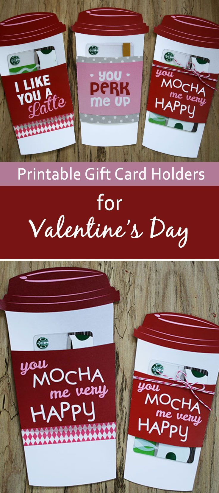 Youll love this lastminute Valentines Day gift card holder – Valentines Cards and Gifts