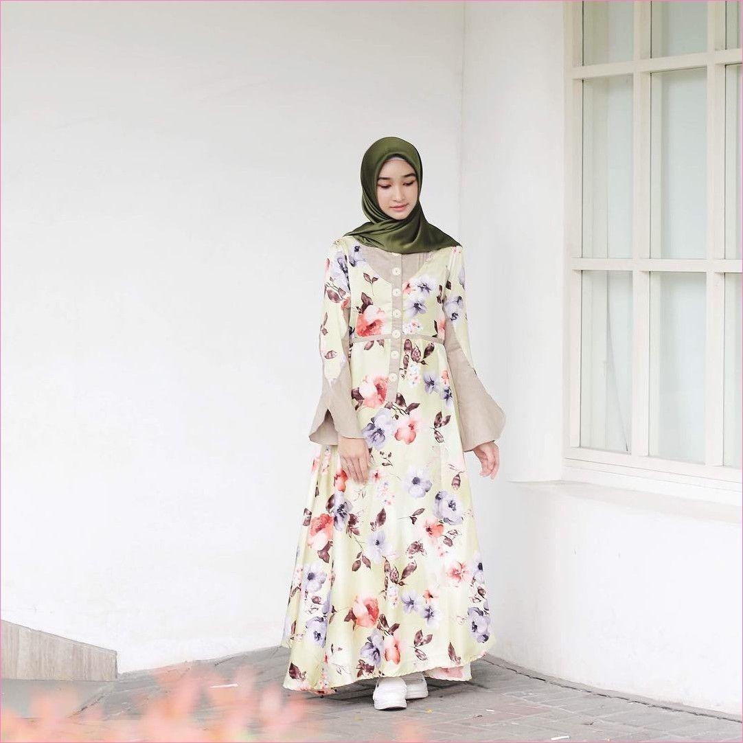 Outfit Baju Hijab Casual Untuk Perempuan Gemuk Ala Selebgram 9