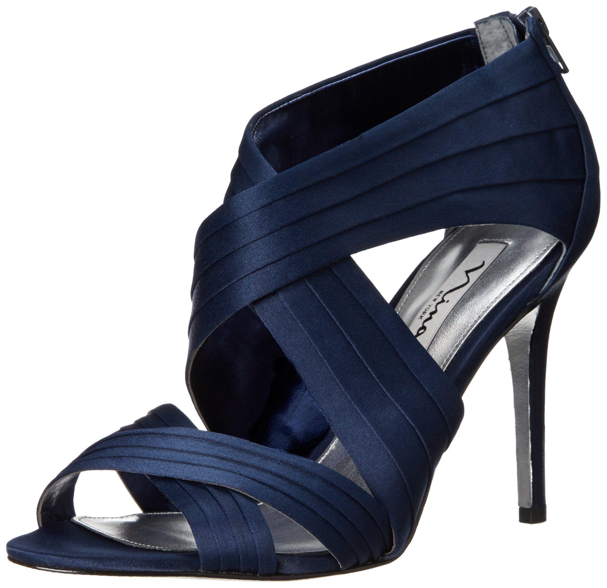 Satin heels, Dress sandals